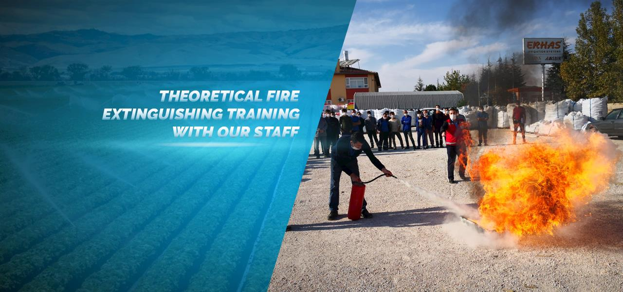 Theoretical Fire Extinguishing Training with Our Staff